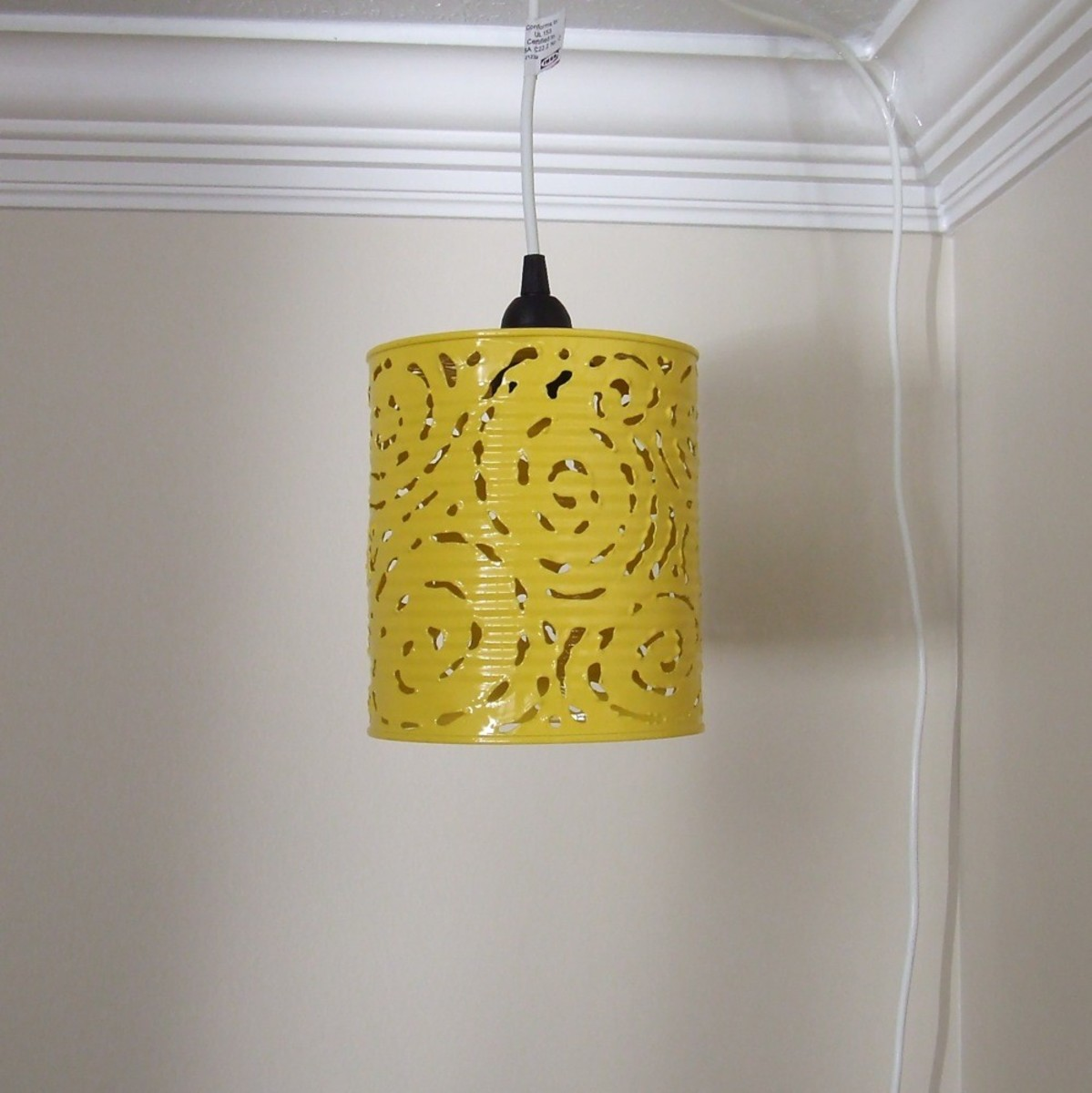 Recycled Tin Food Can