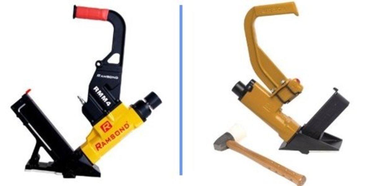 Ramsond RMM4 & Bostitch MIIIFN Flooring nailers