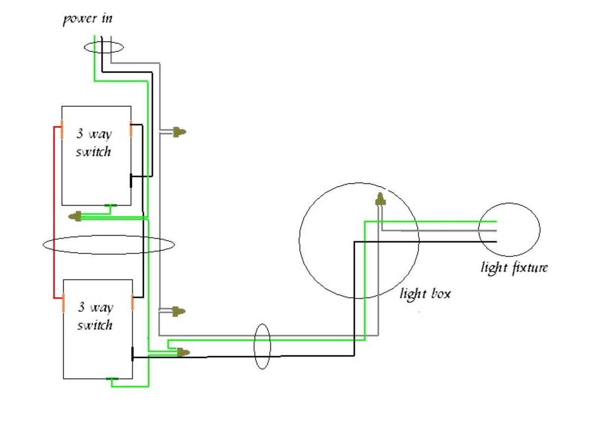 3 way switch diagram