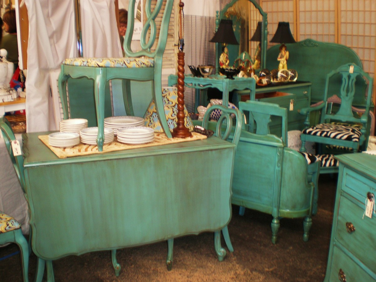 Teal furniture