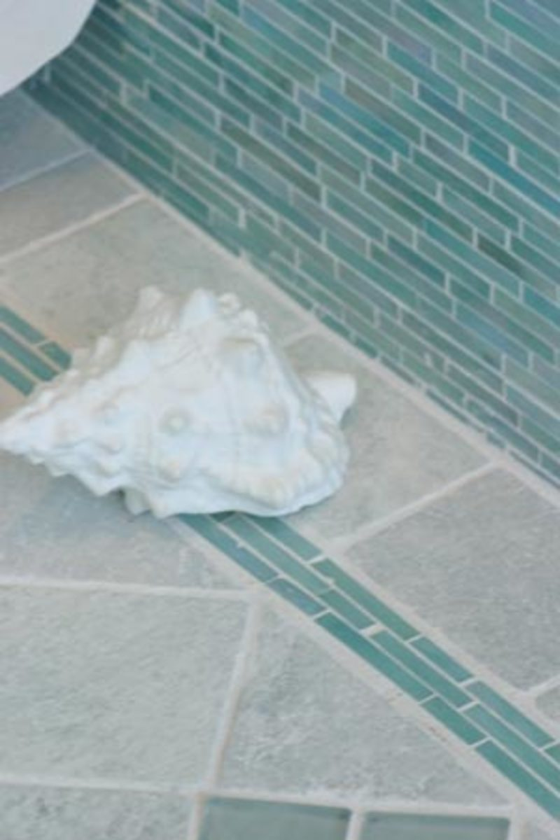 Teal Turquoise Bathroom Design Idea