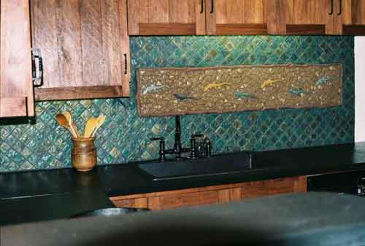 ocean - Turquoise Kitchen