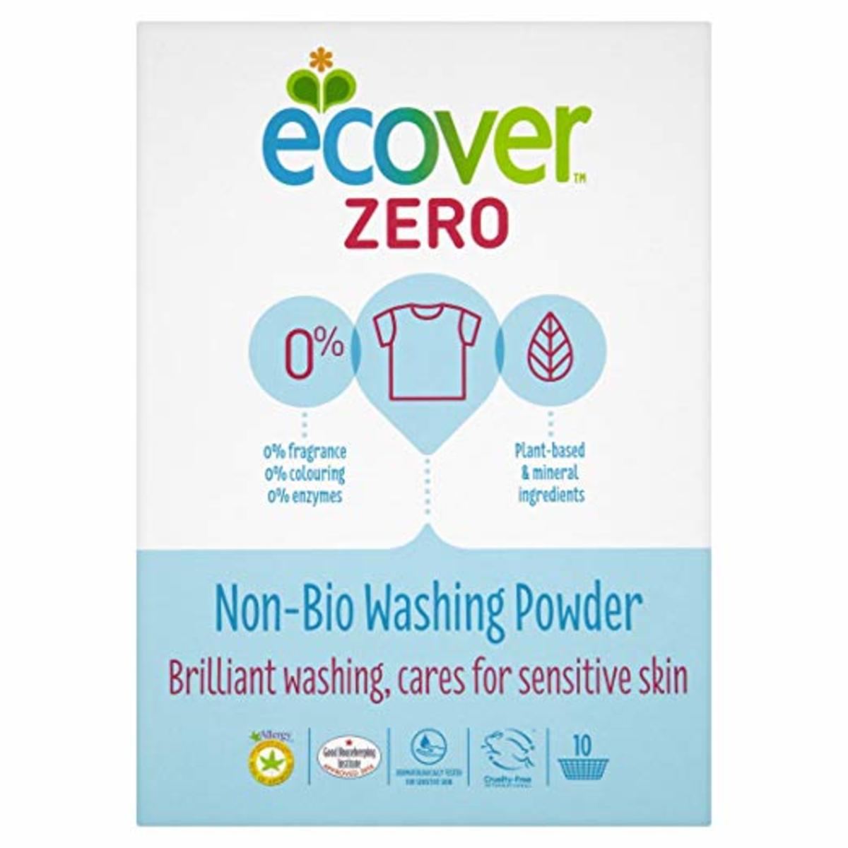 Ecover laundry detergent is my favorite. Plant- and mineral-based, fragrance-free.