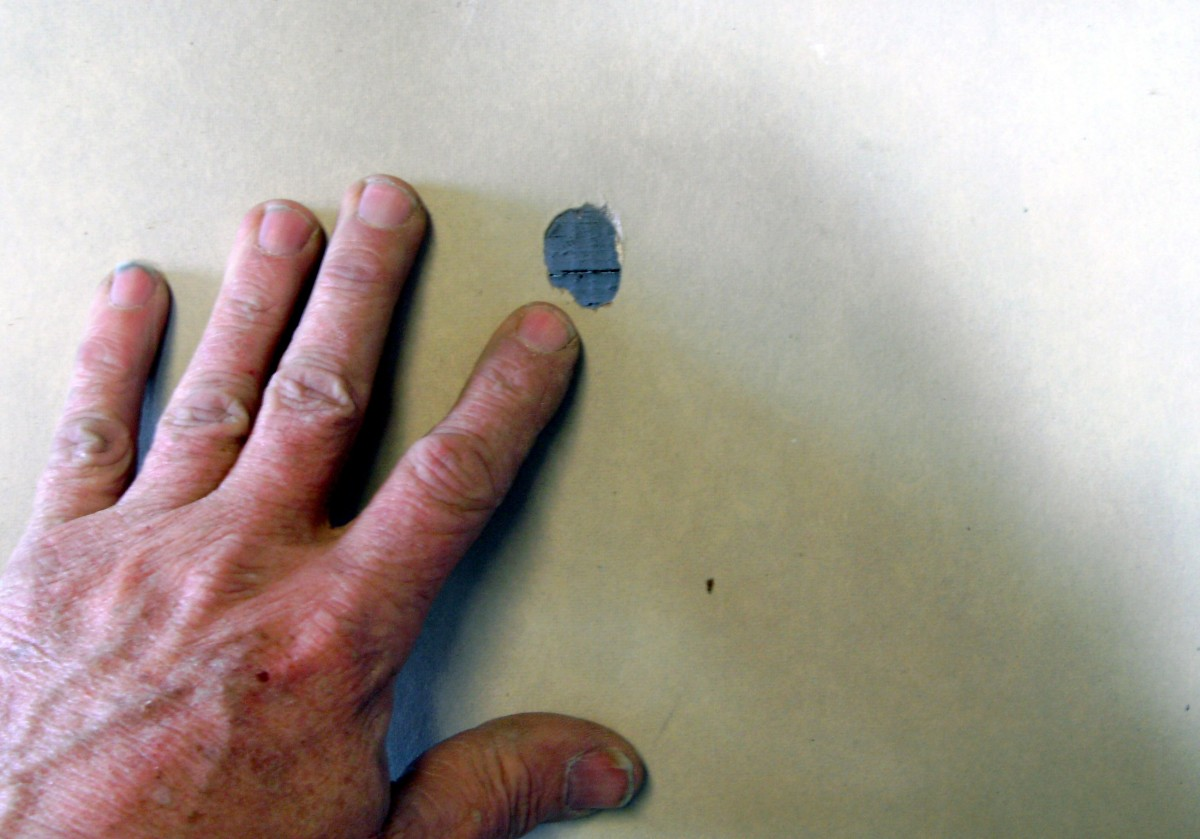 Holes this size and smaller are easily repaired