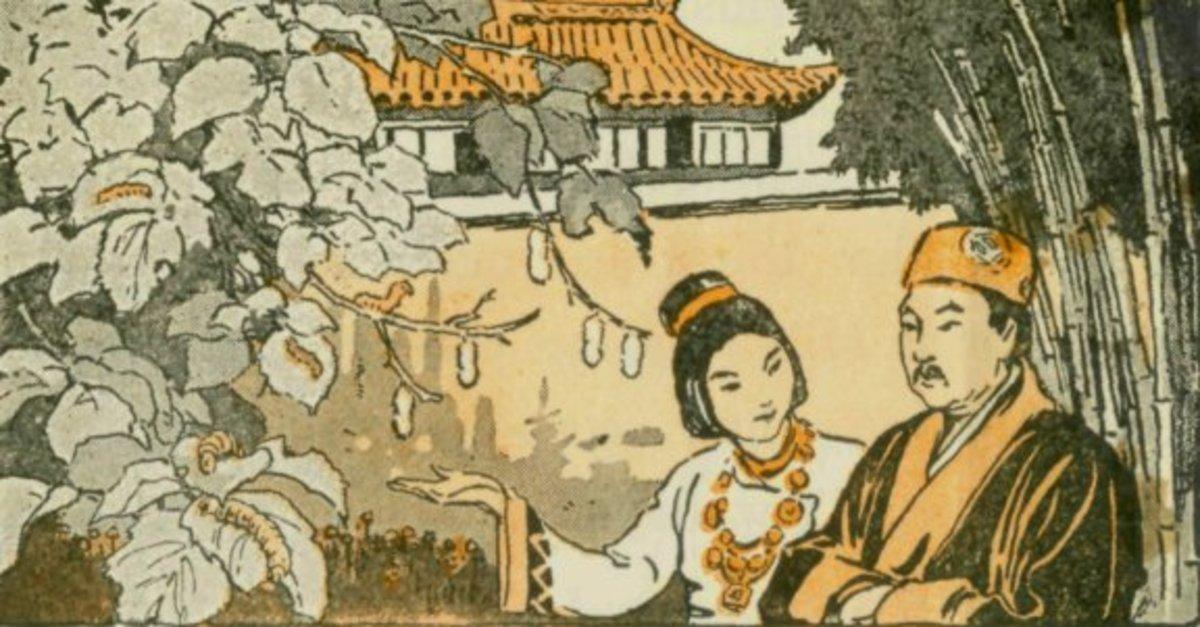 Silk fabrics originated in ancient China.