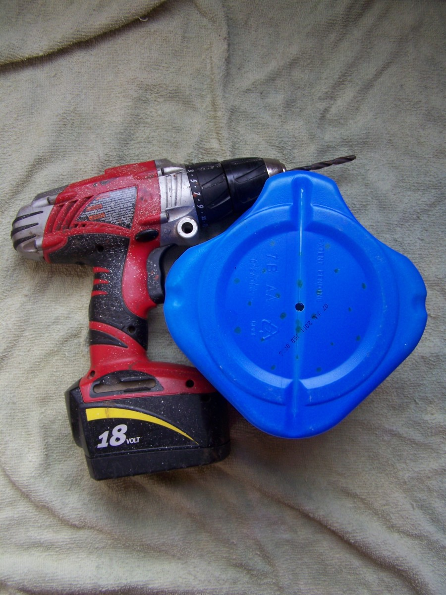 DIY Worm Composter Supply List