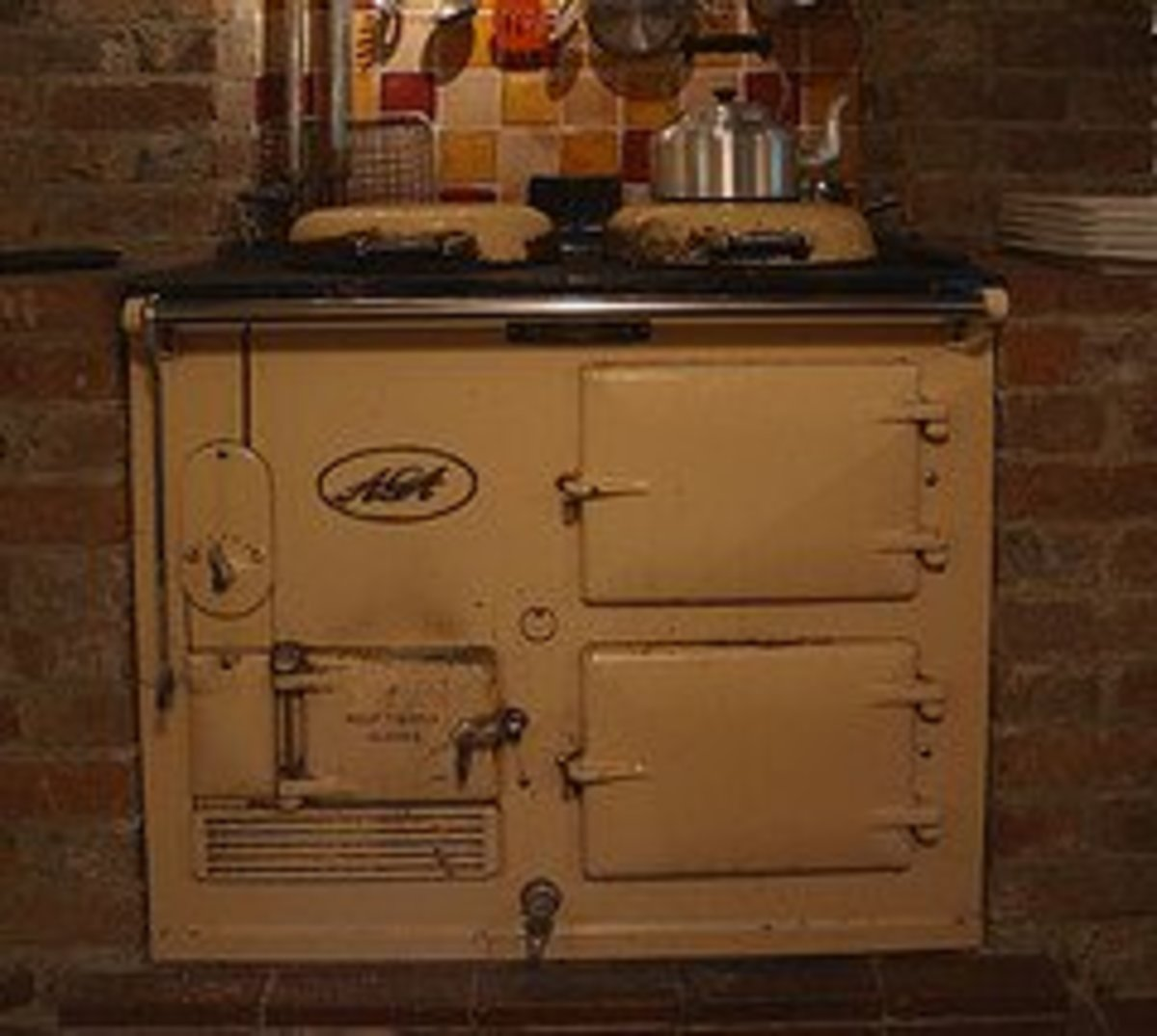 An old and much-loved AGA