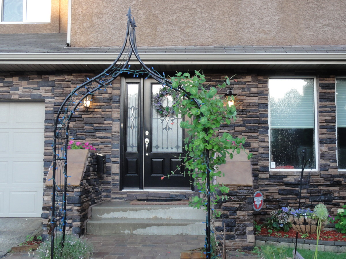 how to install stone veneer on the front of your house dengarden