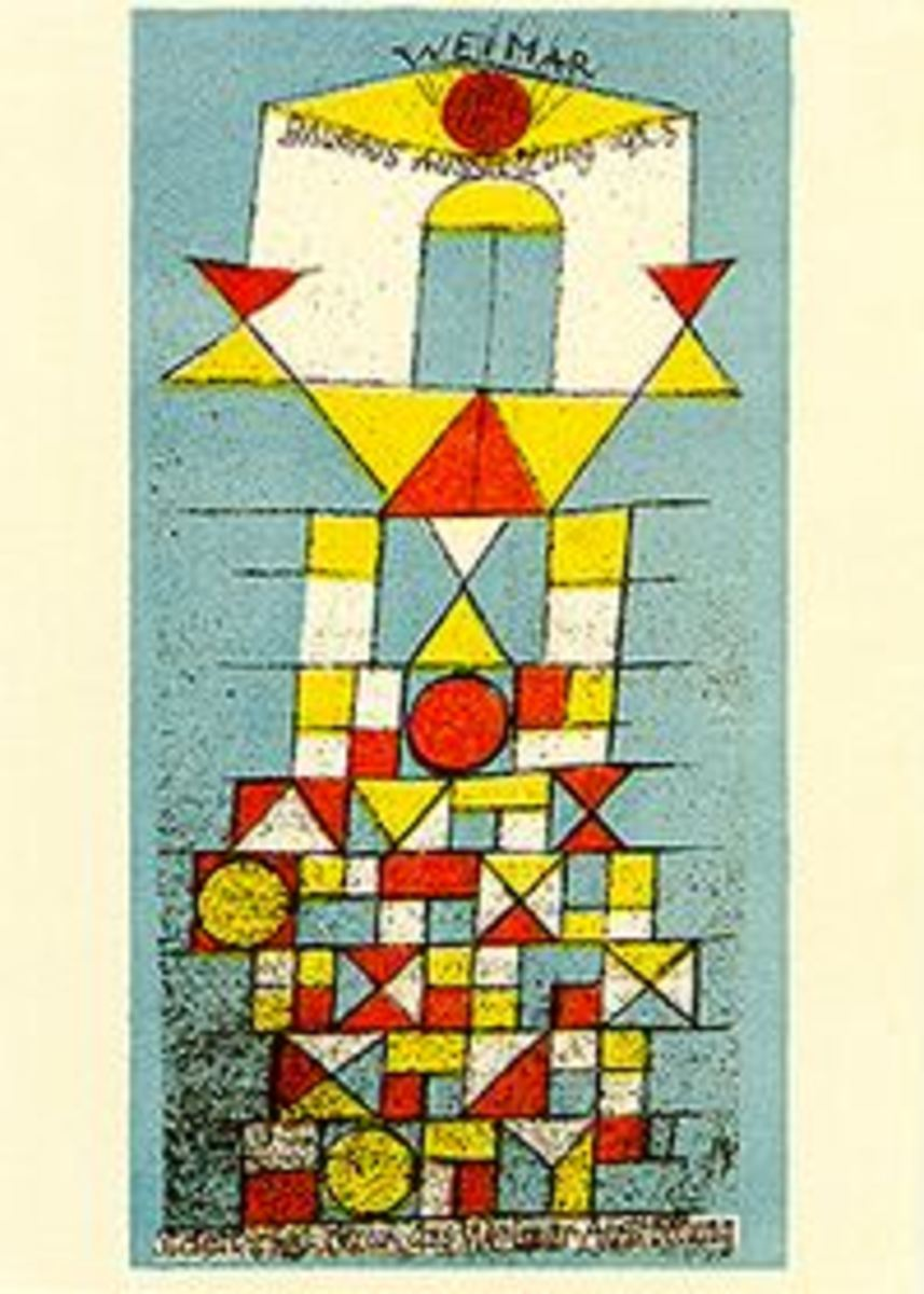 "Bauhaus Art. Paul Klee's ""The Bright Side"""