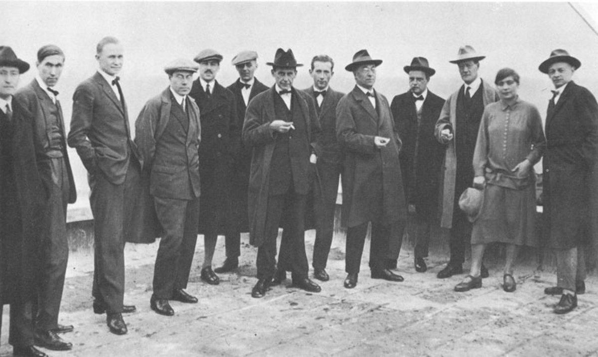 The Bauhaus crew