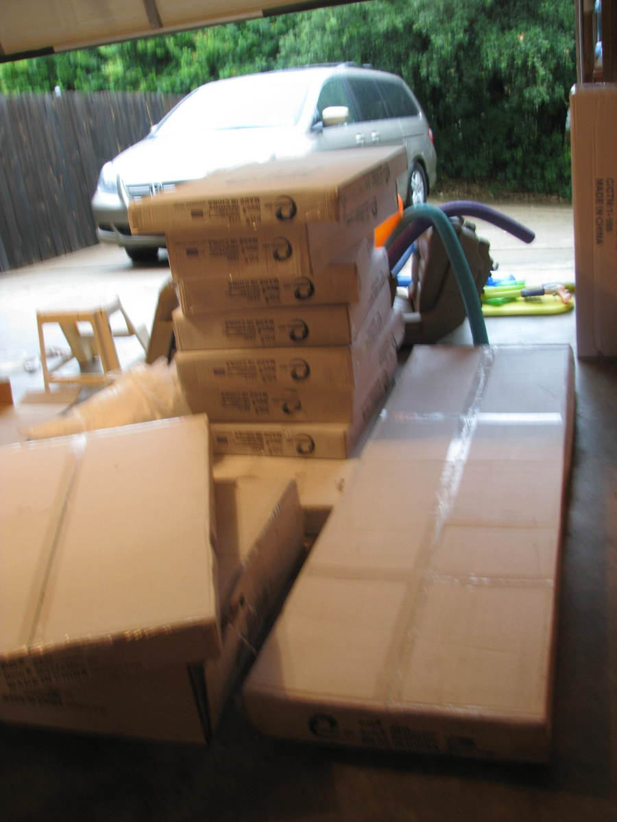 Here's what the boxes looked like when they came.