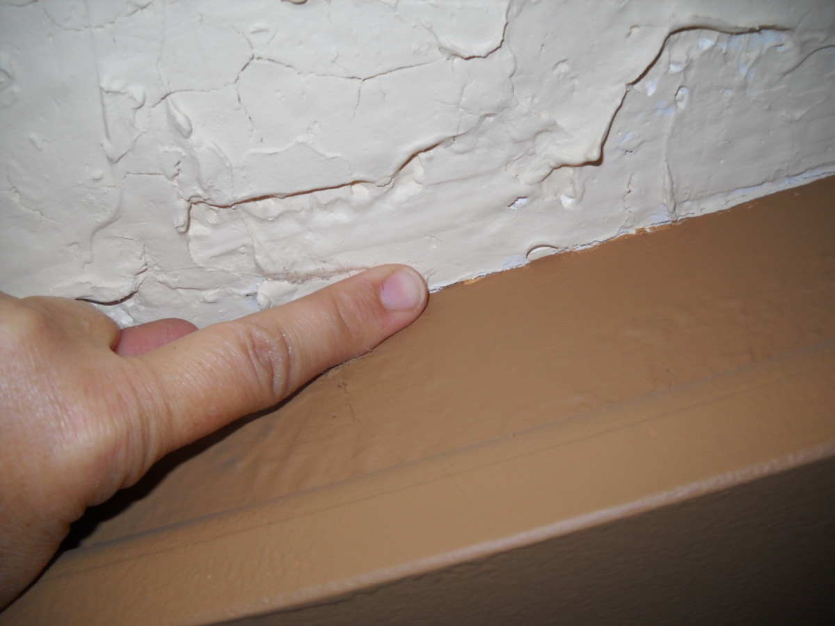 Use your finger (gloves optional) to smooth edges of room.  I didn't do this on my first ceiling and I'm going back to do it this summer.  This makes it look more like the ceiling was finished this way originally.