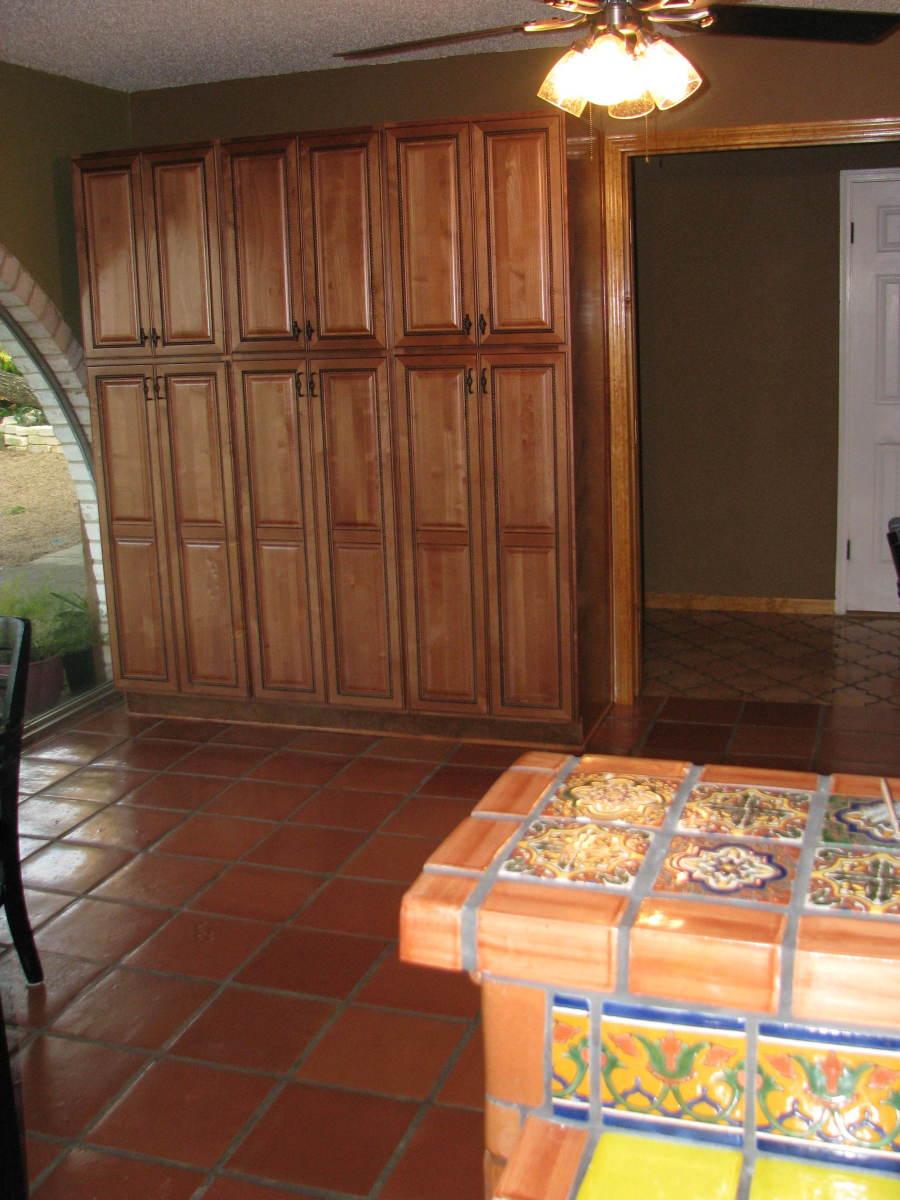 RTA pantry cabinets