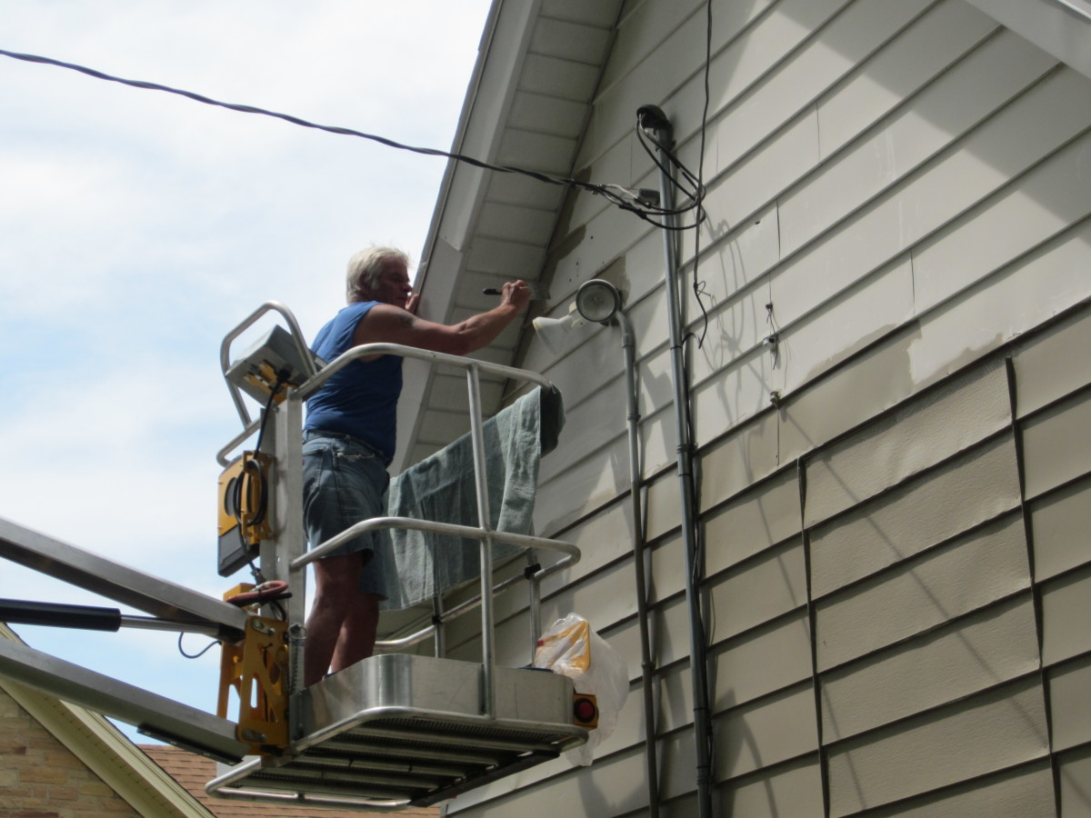 Be careful not to come in contact with Electrical Wires