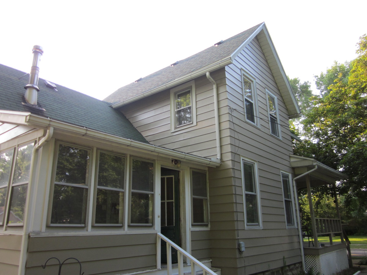 How to paint the exterior of a two story house dengarden - How to paint a 2 story house exterior ...