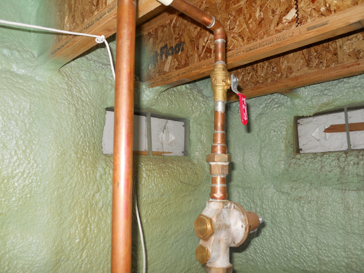 how to find main water shut off valve