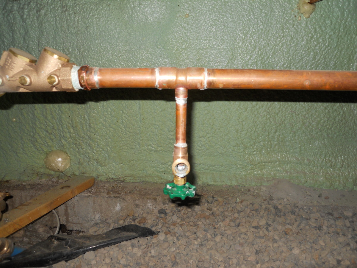 Diy Plumbing Frozen Water Pipes And Main Shutoff Valves
