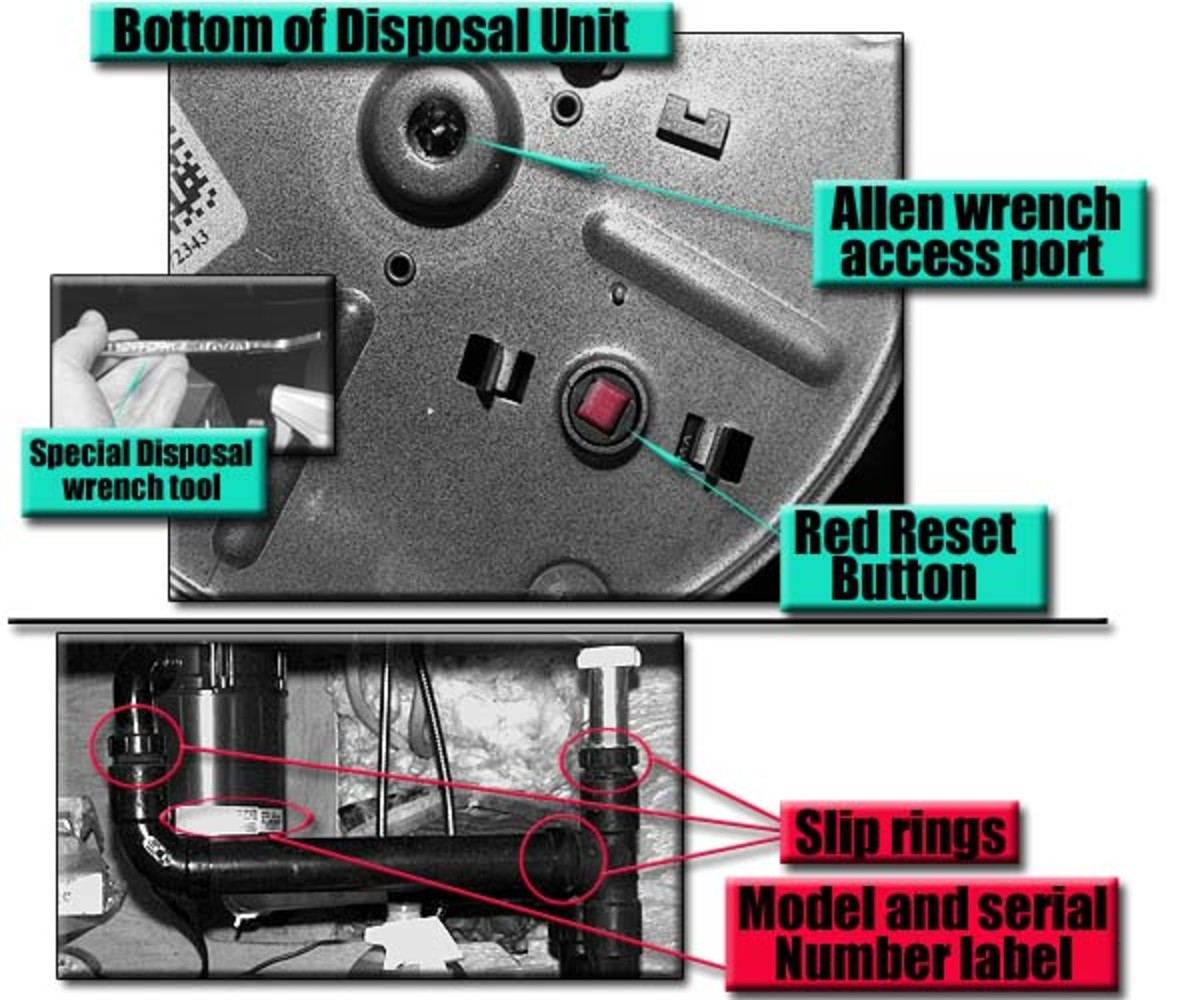 When your garbage disposal is humming, it is easy to fix! A waste disposal leak usually shows up at the slip rings location due to vibration.