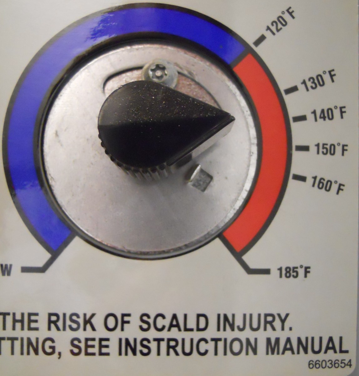 The thermostat on you water heater should be set to 120-135F or around 50C.