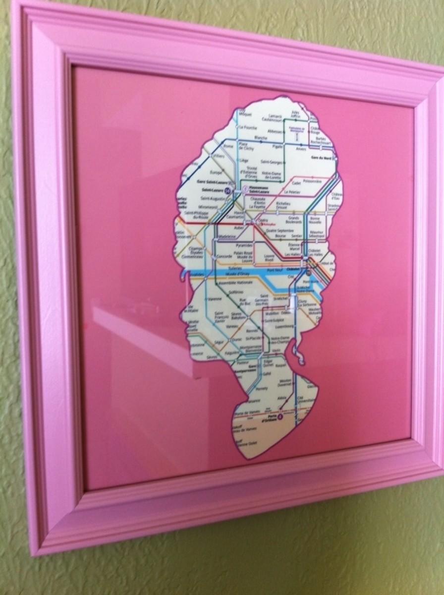 Marie Antoinette and the Paris Metro