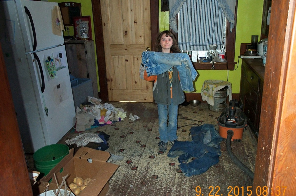 Sorting clothes into dirty, dirtier, and dirtiest is the first step.
