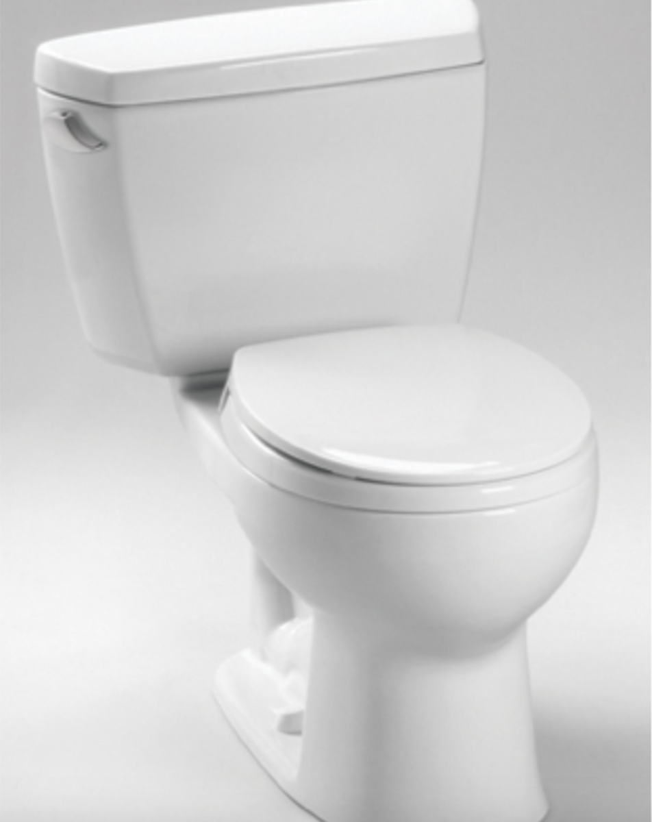 The Drake is a rounder, smoother, and more modern-looking toilet than many others on the market.