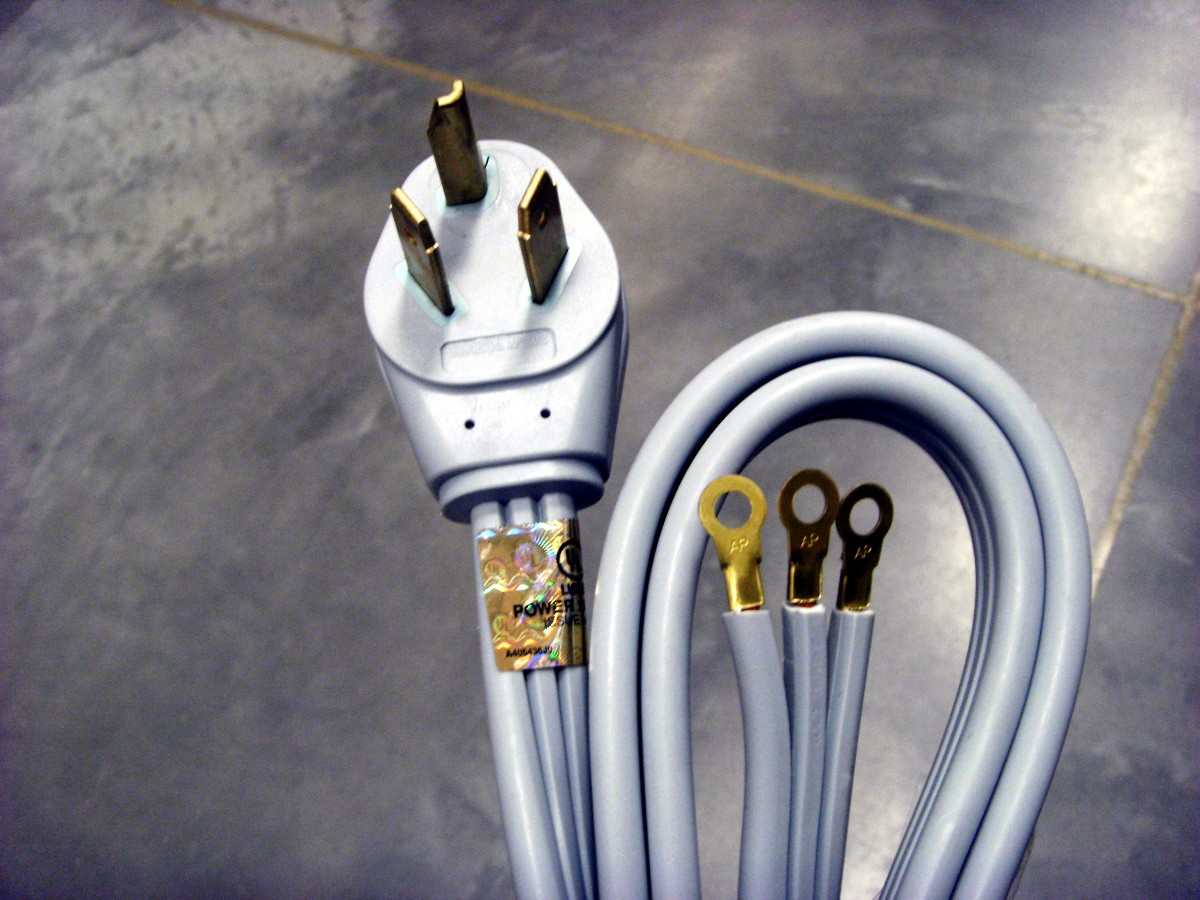 How To Change A 4 Prong Dryer Cord And Plug To A 3 Prong