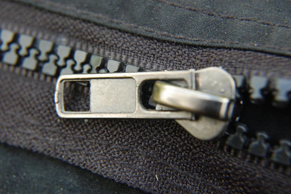 Zipper catches