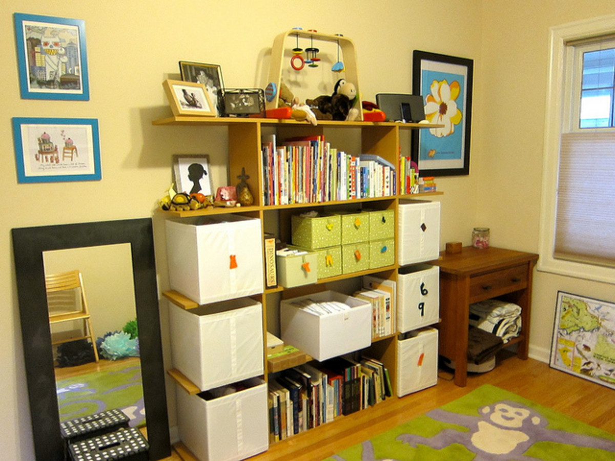 After clearing out the clutter, put things back where they belong after you use them.