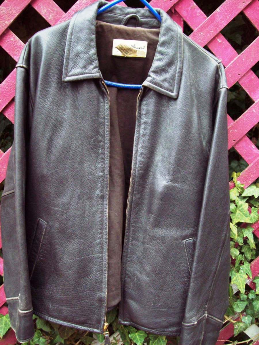 Help a tired-looking leather jacket come back to life by cleaning it with natural