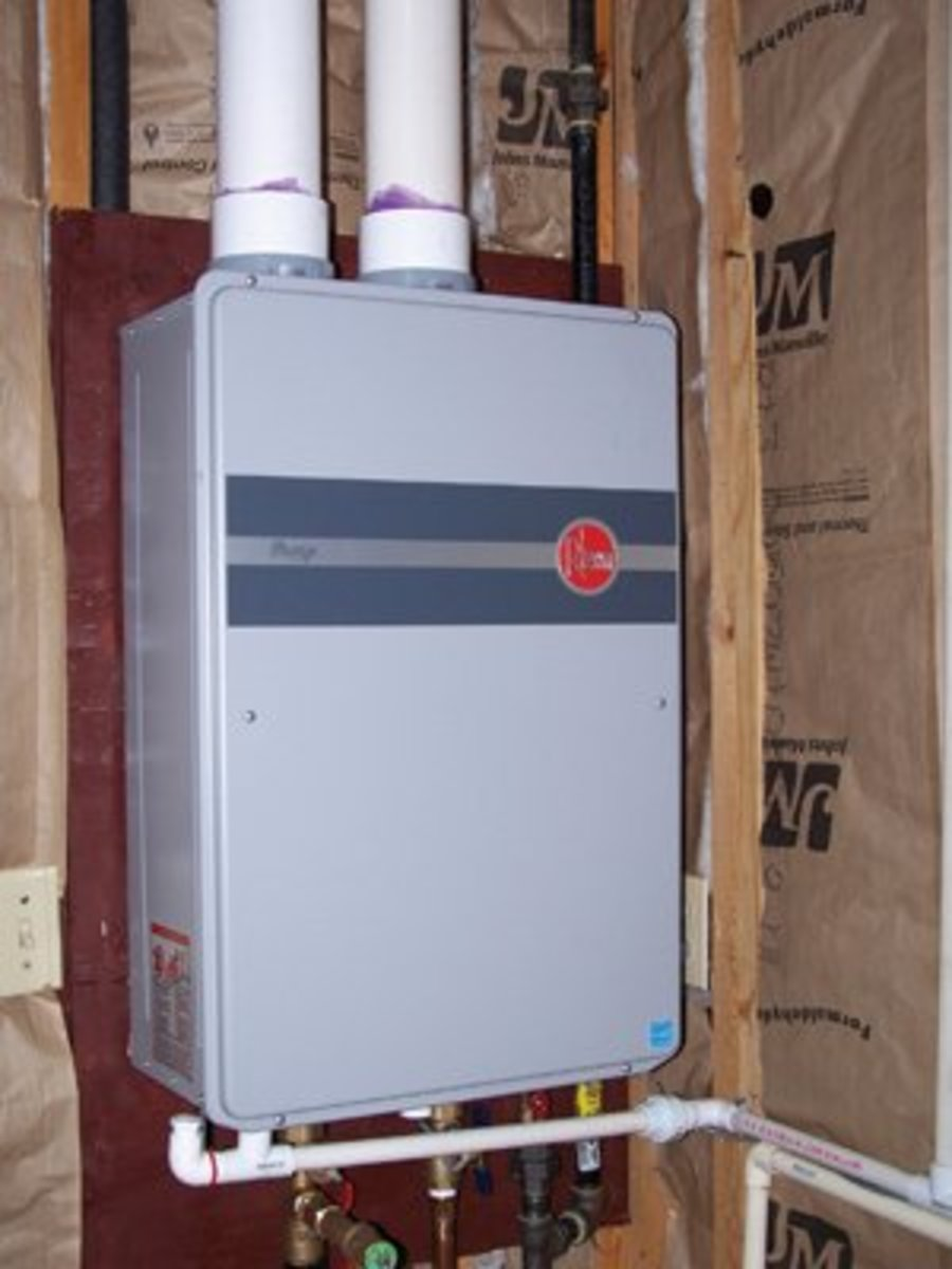 Everything you need to know about outdoor shower - Exterior hot water heater enclosure ...