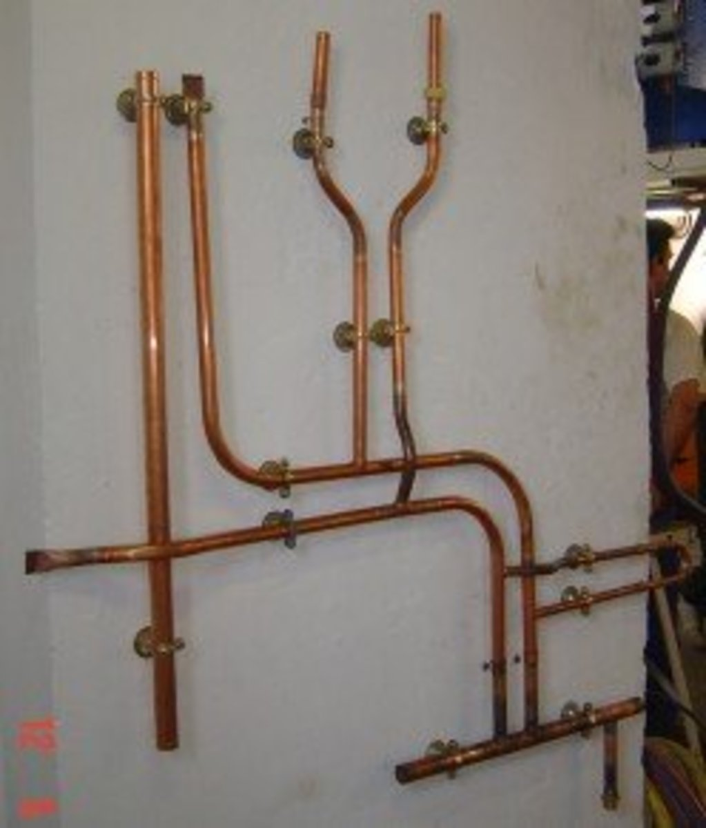 Using Copper Pipes for Outdoor Shower Plumbing