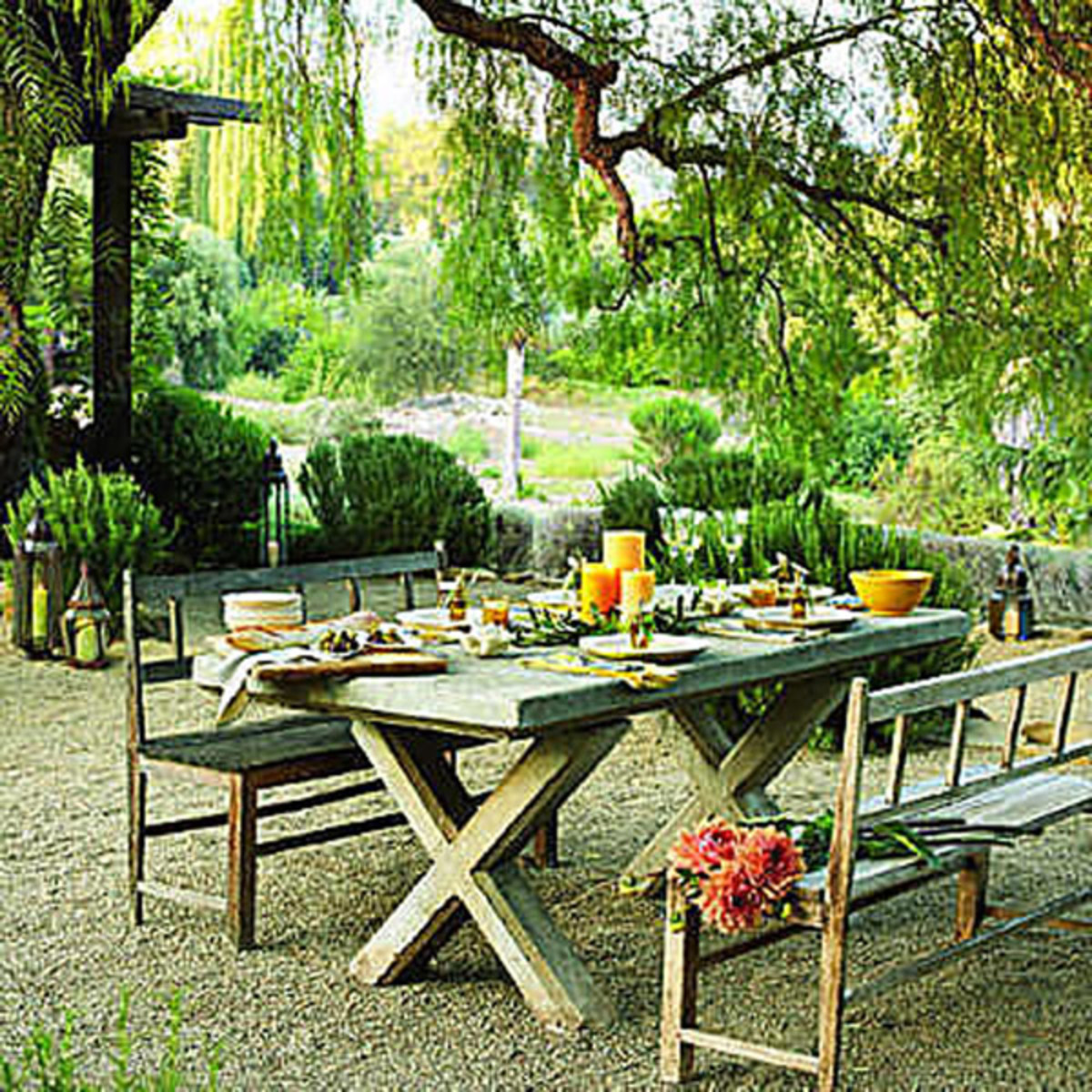 Tuscan style is so charming.
