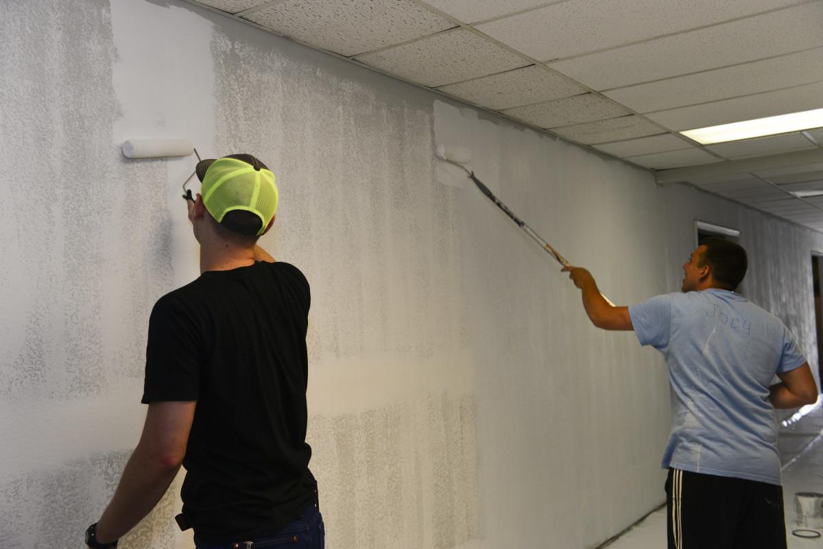 Tips For Painting Over Wallpaper Dengarden