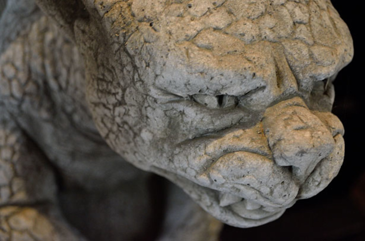 Stone Sculptures - Gargoyle by Jiri Hodan