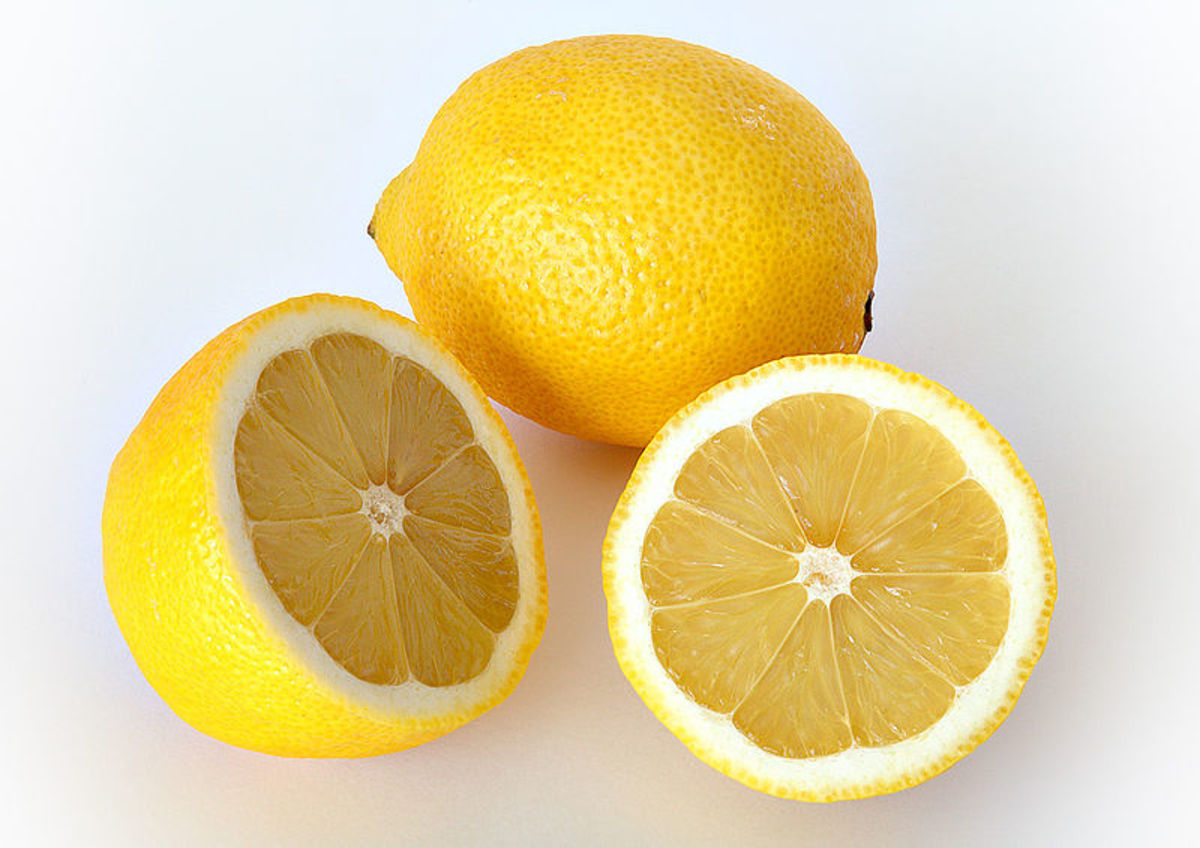 Lemon juice is also a natural cleaner and disinfectant.