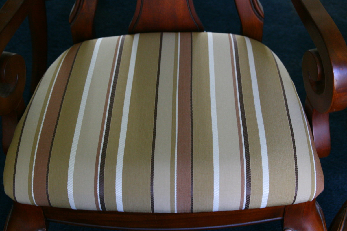 How To Reupholster A Dining Room Chair An Easy Home Improvement Project