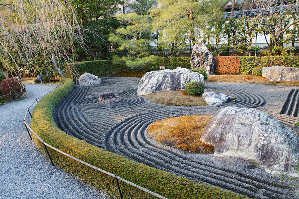 Zen Rock Garden - History, Philosophy and How-To Guide | Dengarden Zen Rock Gardens Landscaping Designs on rock gardens landscaping designs, easy rock garden designs, back garden designs, zen garden ideas, terrace garden designs, zen gardens landscaping, yard designs, rock garden pond designs, zen wallpaper, flower garden designs, water garden designs, zen garden patterns, japanese garden designs, zen garden supplies, zen border designs, zen art, flower box designs, zen garden plans, zen stones, zen landscape designs,