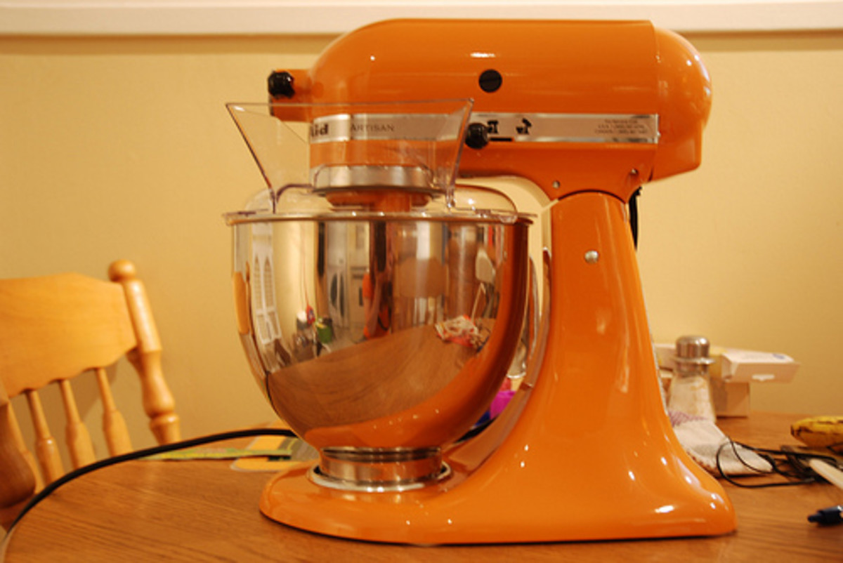 Purchase a few new small appliances and accessories to make a style impact.
