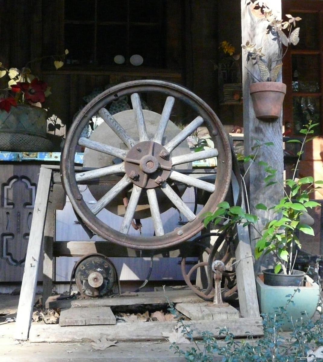 Wagon Wheel grinding wheel