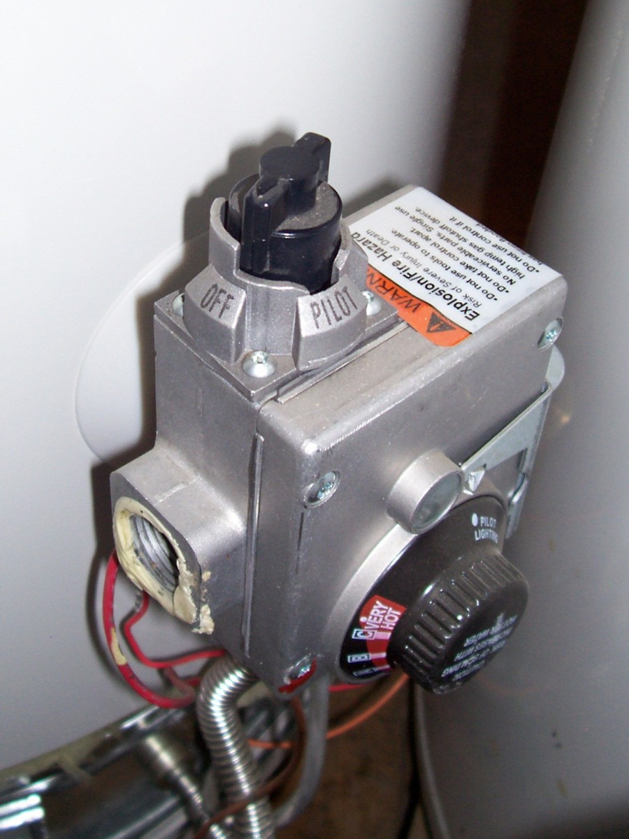 hot water heater pilot light always on
