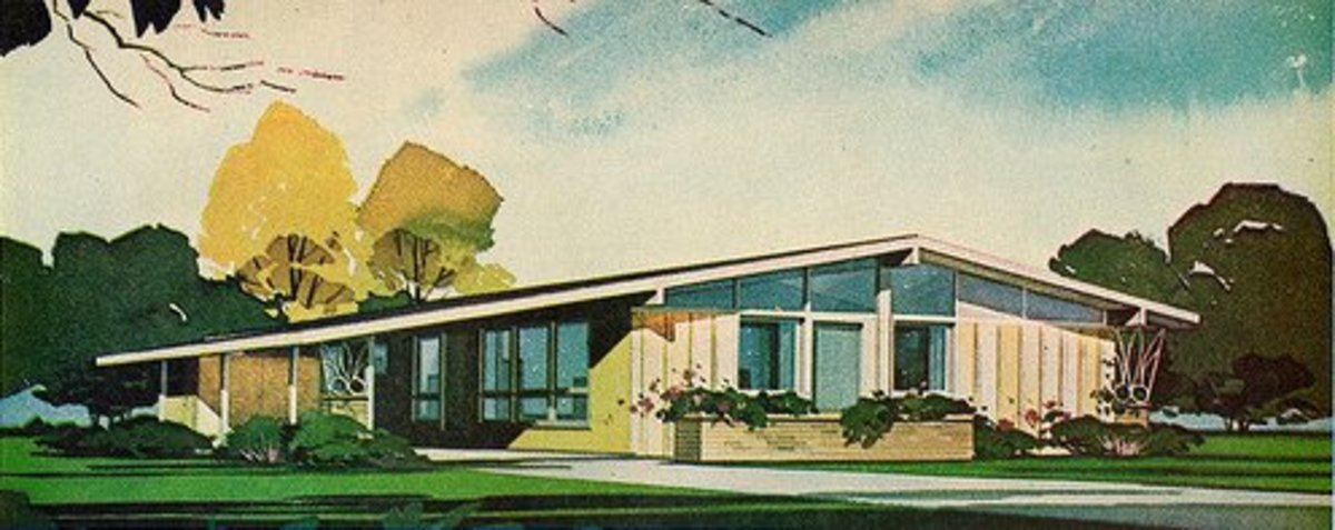 A pocket guide to mid century modern style dengarden for Mid century modern residential architecture