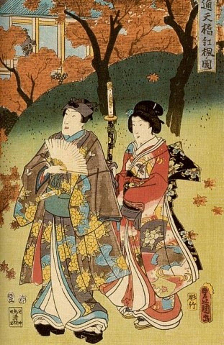 Ukiyo-e print by Utagawa Kunisada (1786-1865).