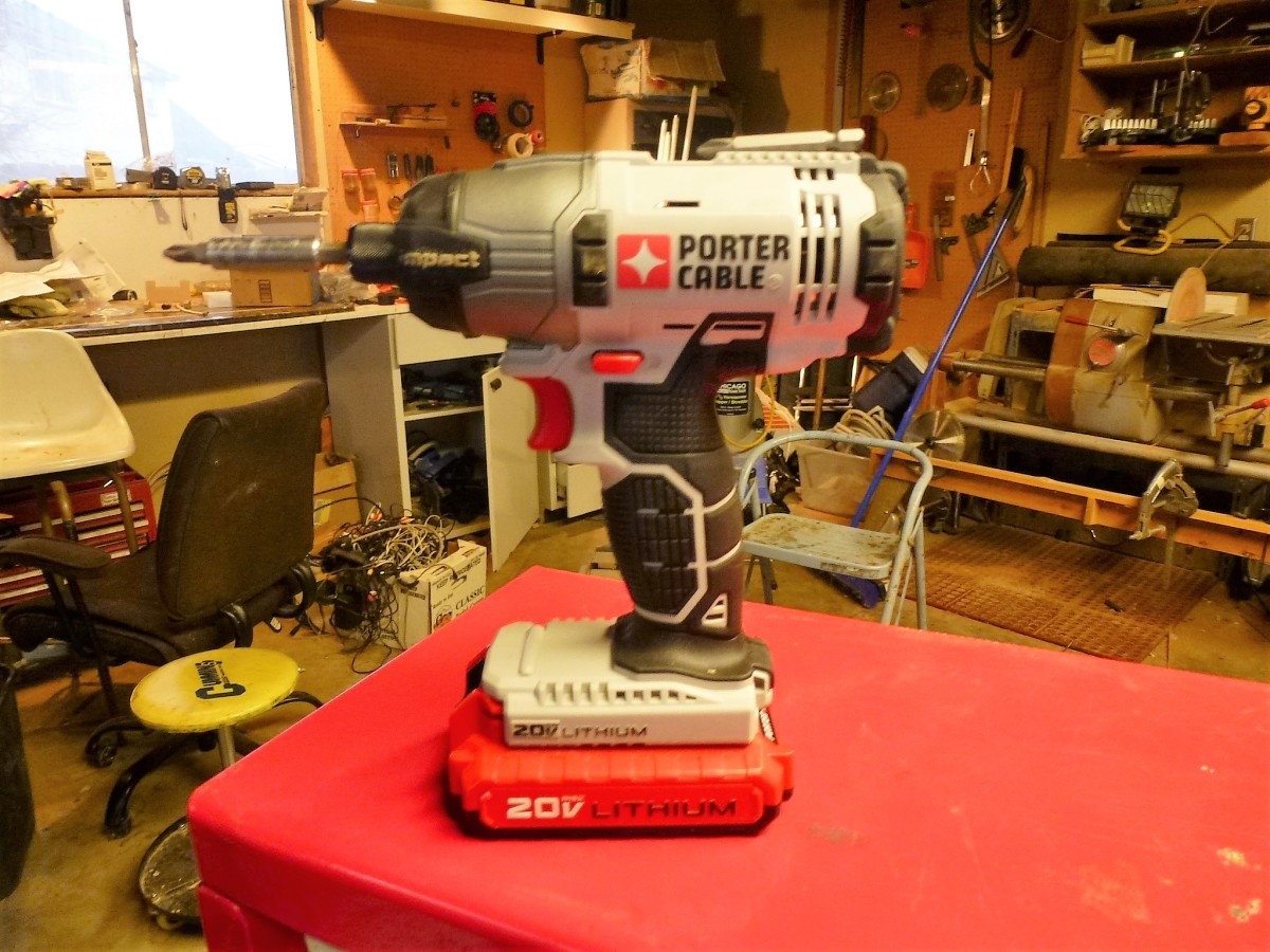 The most used tool on the job - an impact driver