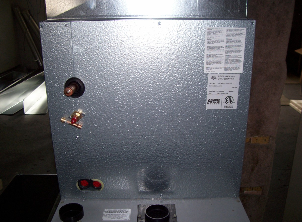 Evaporator: This is what we see.