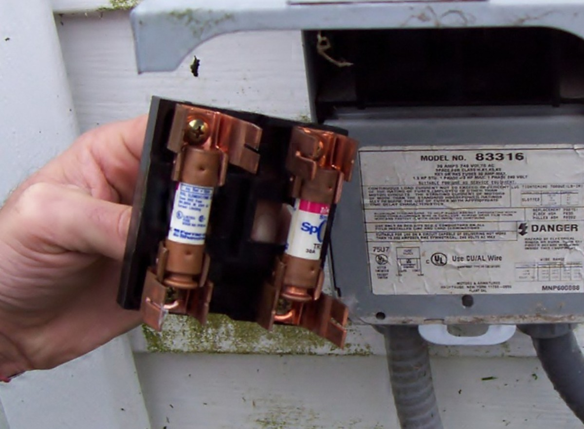 This disconnect has the fuses on it. Let's not forget where these are. Those are easy to replace.