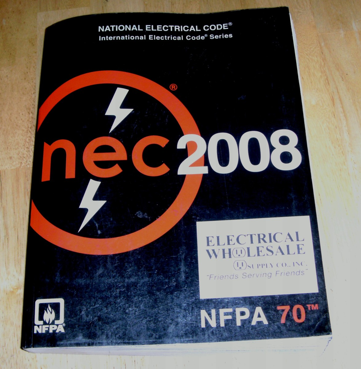 "The ""bible"" of electrical work.  Follow it and you will have a good, safe electrical system."