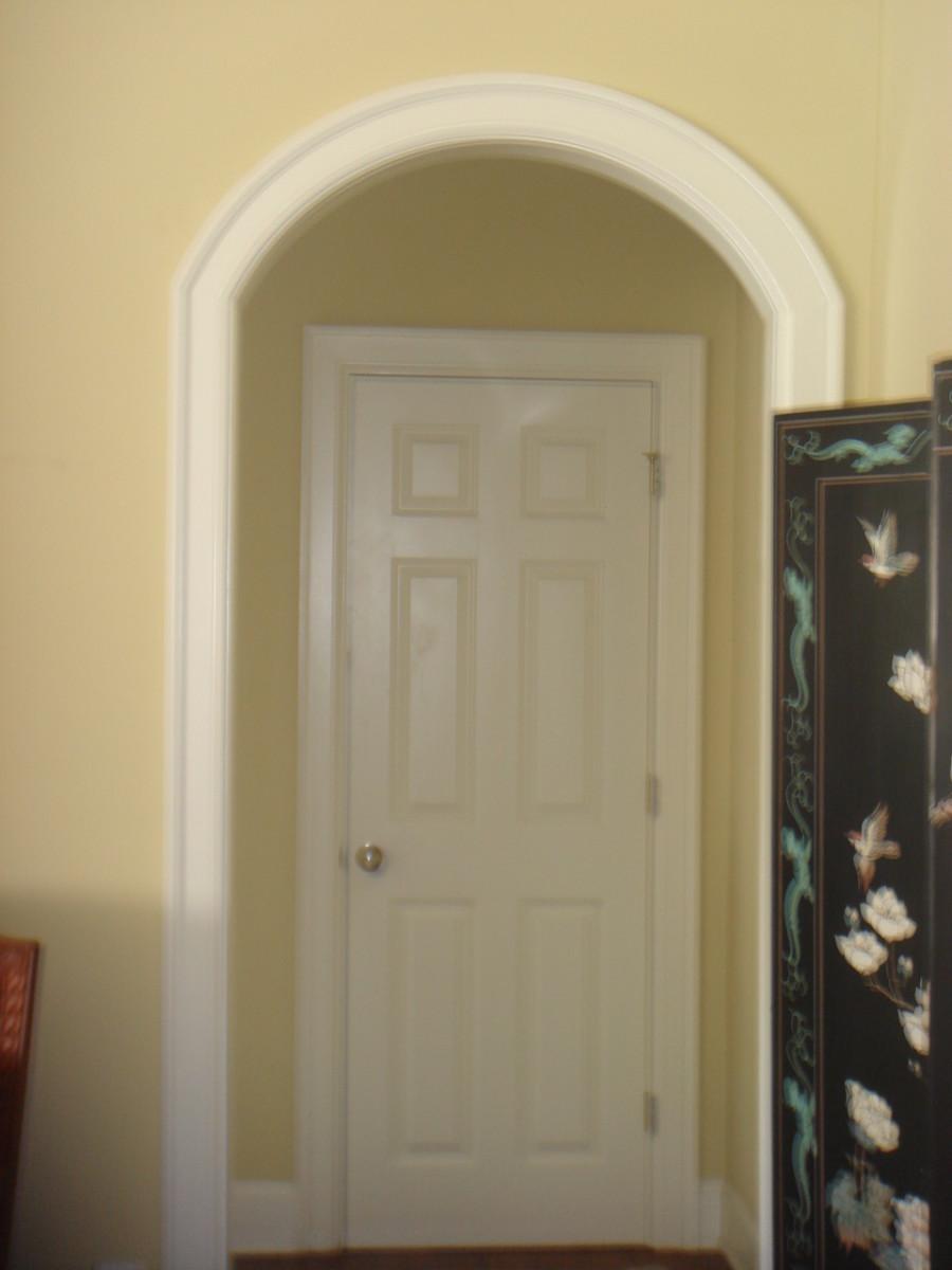 Standard 6 Panel Closet Door.
