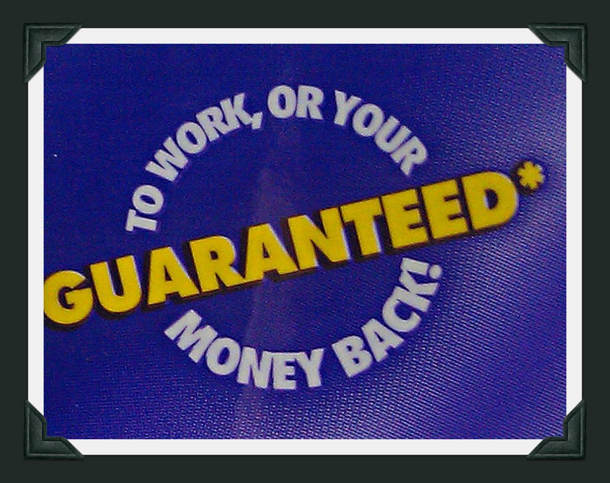 Hot Shot Bed Bug and Flea Spray Money Back Guarantee.