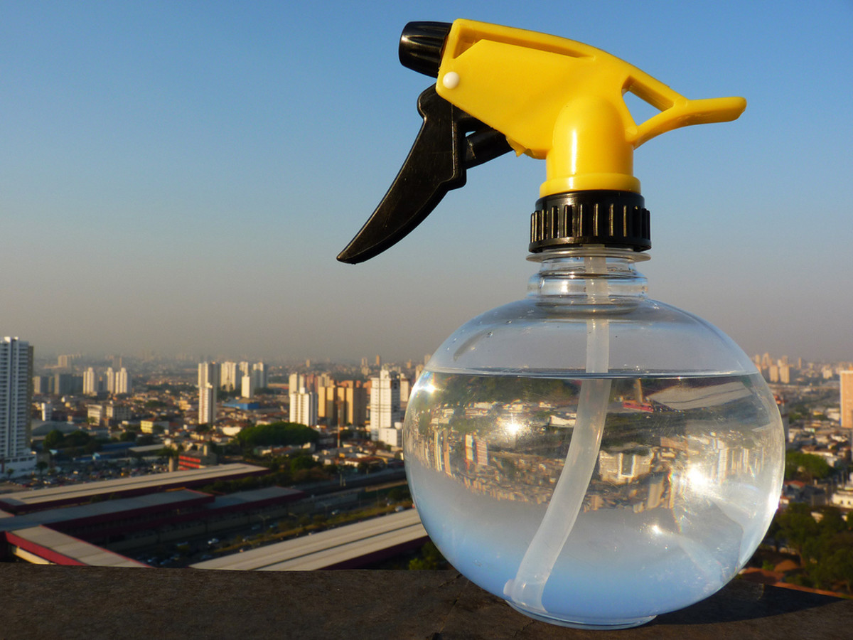 The mighty spray bottle will be of great use in making homemade pesticides.